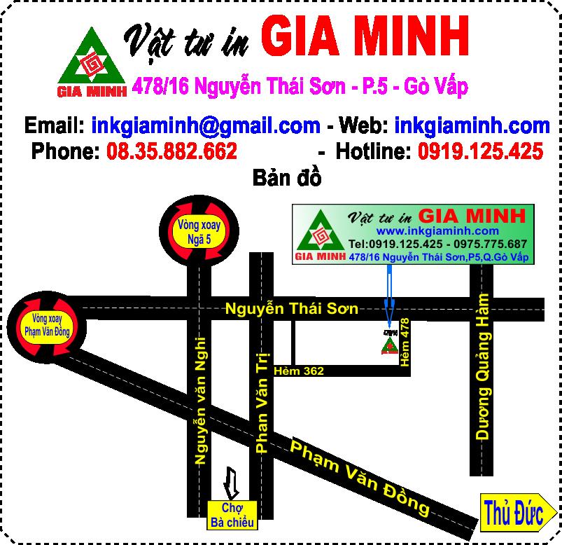 Vật tư in Gia Minh